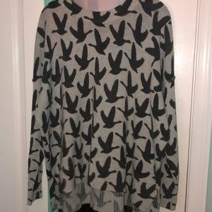 H&M Long sleeve pattern sweater